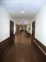 ユニット棟 廊下